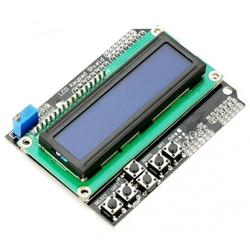 Arduino LCD Shield compatible with chipKIT Uno32!